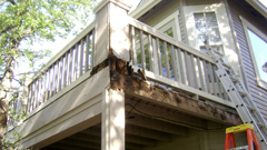 Video: Deck Repair after Water Damage